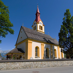 Igls church, Innsbruck, Austria