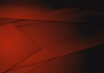 Dark tech vector background