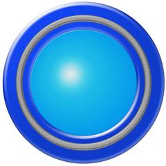 bouton vierge tendance bleu