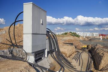 Stromkabel Verteiler © Matthias Buehner