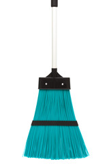 blue and modern broom