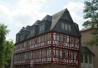 Half timbered house in Frankfurt on Main