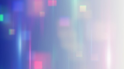 blurred squares abstract techno loop background