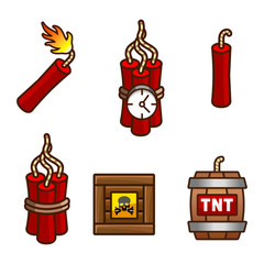 Tnt and dynamite set