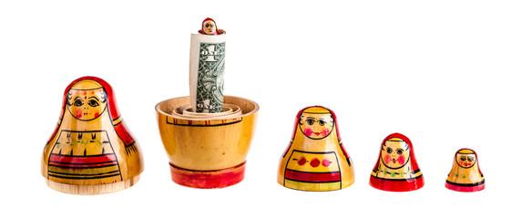 Matryoshka dolls family bonus