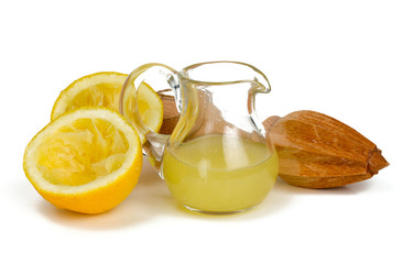 lemon juicer isolated on white background