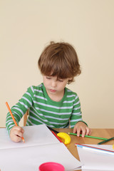 Child Writing, School Education