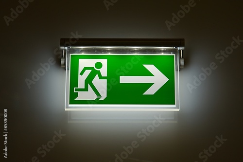 Exit Sign - 65390008