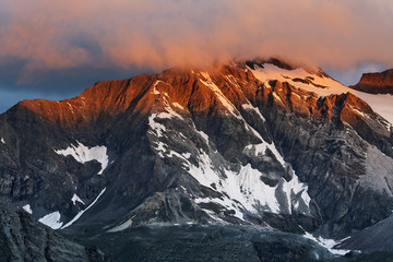 Alpine landscape in National Park Gran Paradiso, Italy, Europe