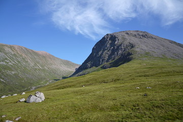 Meall an t-Suidhe, hill on a way to Ben Nevis