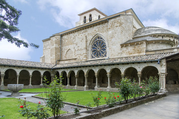 """San Pedro de la Rua"" Church, Estella, Navarre. Spain."