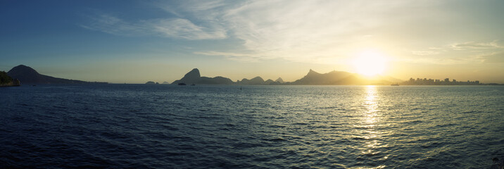 Rio Panorama with Sugarloaf Mountain Guanabara Bay