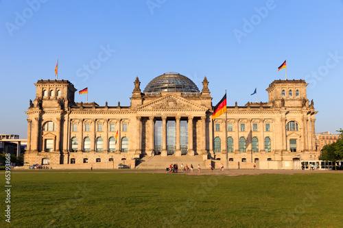 canvas print picture Reichstag in Berlin