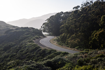 Marin Headlands Road