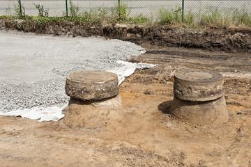 Strassenbau - Unterbau für eine neue Strasse