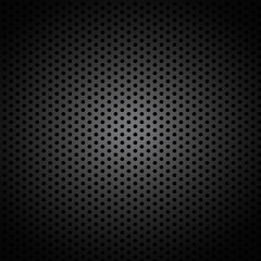 Abstract Metal Perforated Background
