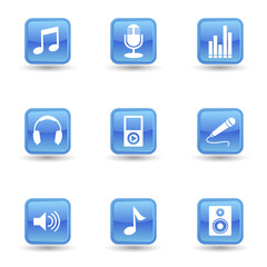 Music And Audio Icons Set
