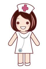 看護婦の女の子
