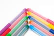 arrow up of fel-tip pens