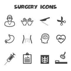surgery icons
