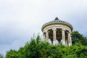 The Monopteros in the Englischer Garden In Munich