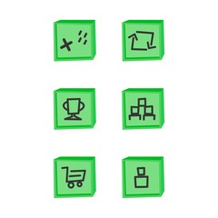 game assets icon set