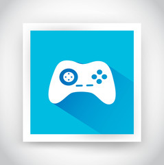 Icon of joystick for web and mobile applications
