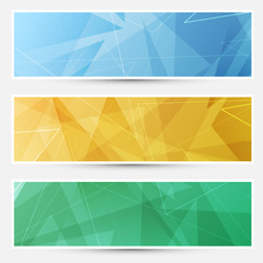 Collection of crystal structured cards