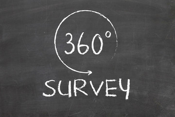 360 degrees Survey concept