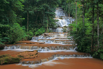 Pajaroen waterfall National Park, Tak, Thailand