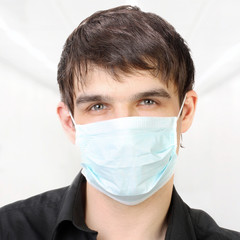 Man in the Flu Mask