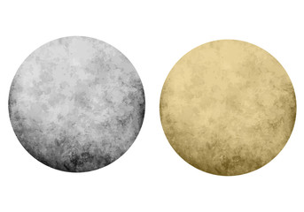 Textured dot backgrounds, vector set