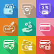 flat money iconset