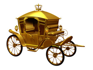 golden Coach perspective view