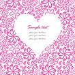 Pink Floral Valentine