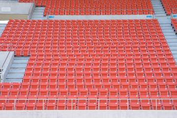 Empty seats at stadium