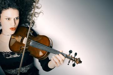 Violin player violinist playing