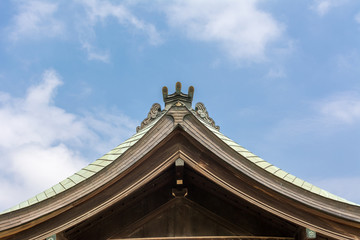 Japanese style roof