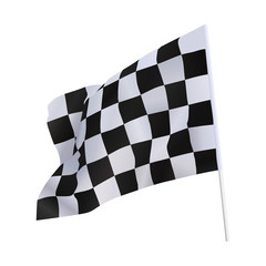 Finish flag