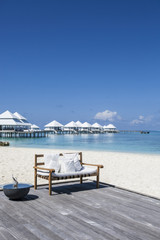 beach in the Maldives