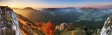 Panorama - Fall in Slovakia mountain Fatras - 65410856