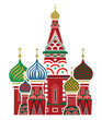 Moscow symbol - Saint Basil's Cathedral, Russia - 65411201