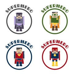 superhero cartoon theme