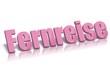 canvas print picture - Fernreise