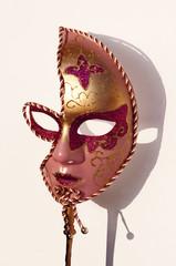 aufwändige Maske, Karneval, venezianisch