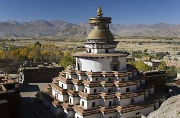 Kumbum Stupa at Gyantse - Tibet