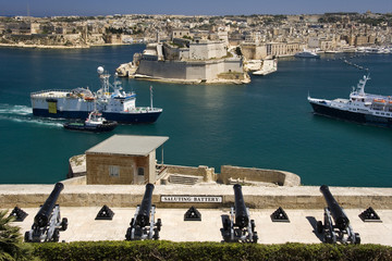 Shipping - The Grand Harbor and Docks - Valletta - Malta