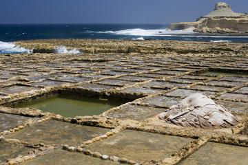Gozo Salt Pans - Malta