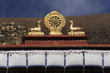 Mandela - Drepung Monastery - Tibet
