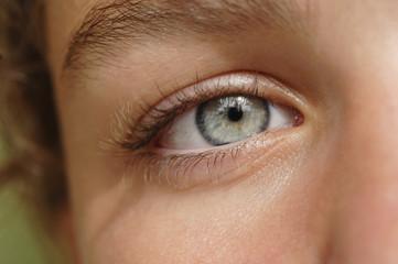 Auge einer Frau, Nahaufnahme